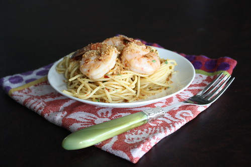 Spicy Pasta with Shrimp