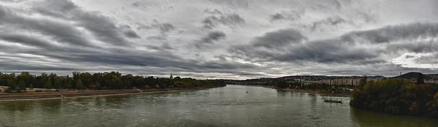 Panoráma az Árpád-hídról