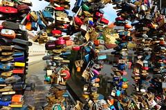 lock n' love bridge Prague (luca.gargano) Tags: bridge love czech prague czechrepublic locks