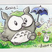 "More Totoro Owly and Wormy • <a style=""font-size:0.8em;"" href=""http://www.flickr.com/photos/25943734@N06/6256116524/"" target=""_blank"">View on Flickr</a>"