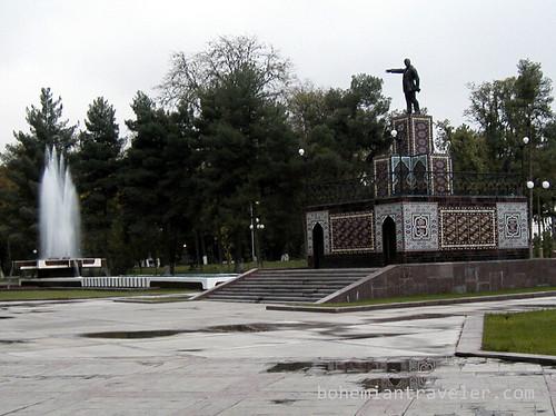 Ashgabat Lenin Statue