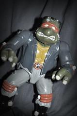 T.M.N.F. (skipthefrogman) Tags: halloween ninja or mikey turtles madness mutant treat trick teenage skipthefrogman