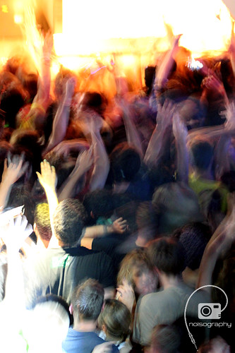THE CIVIC GARAGE PARTY @ The New Palace - crowd 01