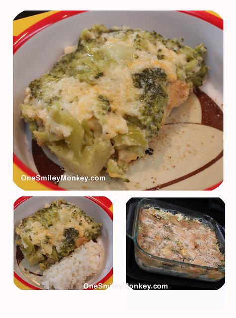 Cheese and Broccoli caserole recipe