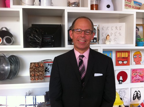 Mr Bierut very kindly popped into the office to talk to us today