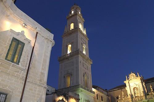 campanile duomo salento puglia barocco lecce apulia... (Photo: Alessandro Demetrio on Flickr)