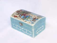 "Jewellery box ""Winter games"""