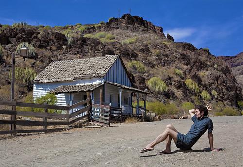 ASIER en SIOUX CITY : Lugar Cañón del Águila / San Bartolome de Tirajana en Gran Canaria 2011
