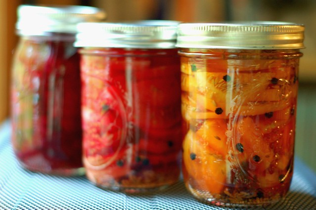 Pickled Beets With Cumin & Cloves by Eve Fox, Garden of Eating blog, copyright 2011