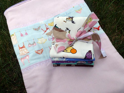 lingerie bag plus fat quarters