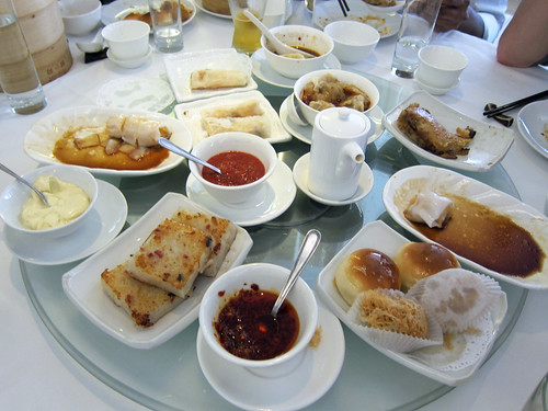Dim Sum Table