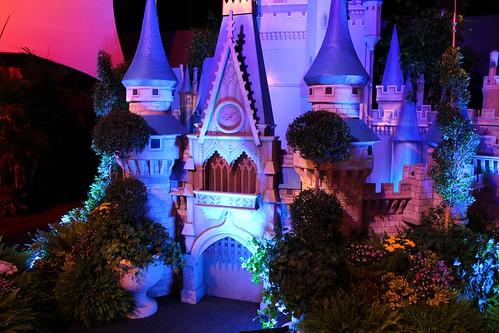 Cinderella Castle display