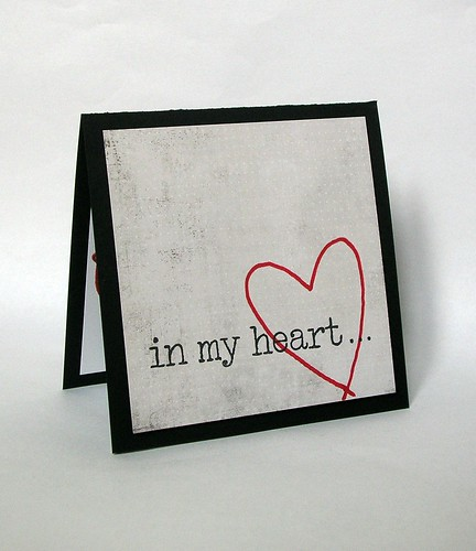 In my heart...