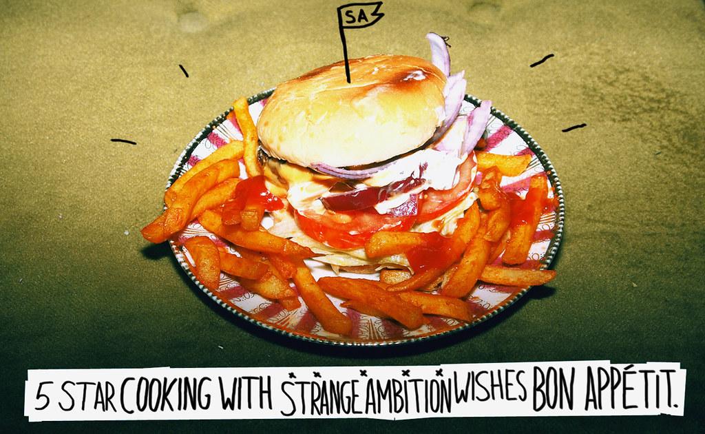 strange ambition veggie burger