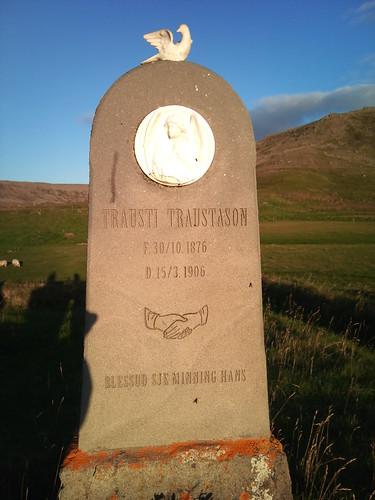 Grave in Breiðavík by XPeria2Day