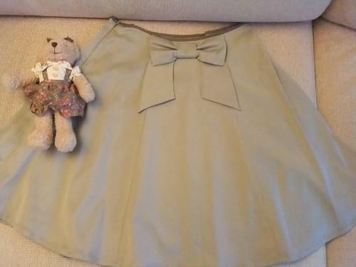Classical Rose Skirt Back