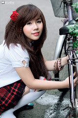 yana -  students (Mstudio - karlchesk mai) Tags: vietnam karl beautifull xedap nicepicture hocsinh teen9x girlviet gachoa karlmai karlmaistudio lovyly teensaigon