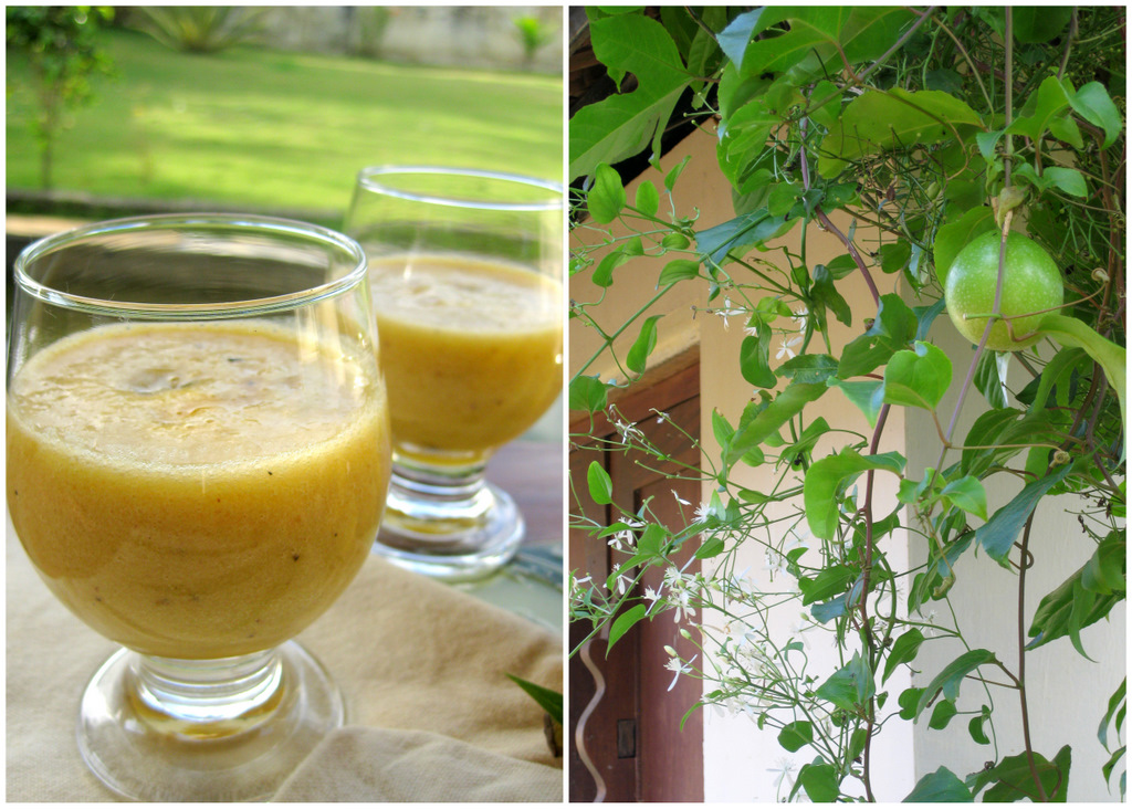 how to make passion fruit smoothie