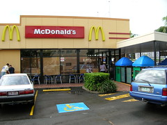 McDonalds - Before window restoration