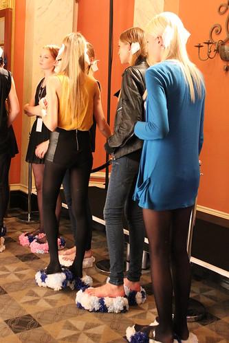 Fashion Fringe catwalk show