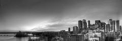 Sydney sights at dawn (Woodyatt) Tags: city panorama sunrise dawn harbour sydney operahouse hdr 550dsydneyandthehouseatdawnfrombridge