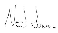 Neil Irvin Signature