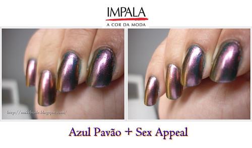 Impala - Azul Pavão & Sex Appeal