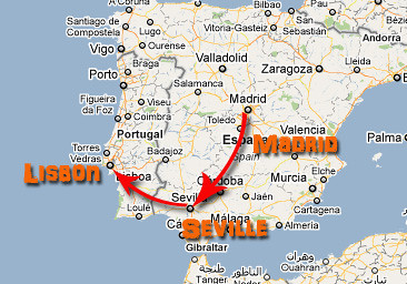 madrid to lisbon