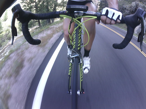 First ride on the Canyon Ultimate CF SLX road bike.