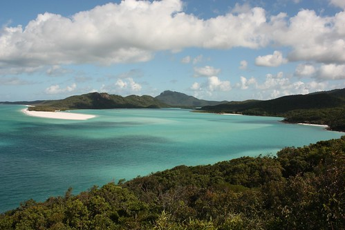 Whitehaven Beach, Great Reef Barrier - Coral Sea