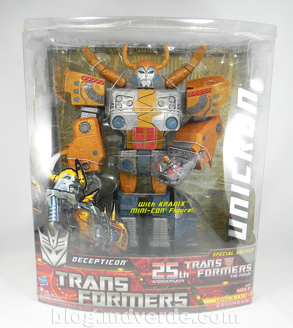 Transformers Unicron Generations Supreme - caja