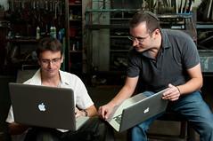 Magisto CEOs, Oren Boiman and Alex Rav-Acha