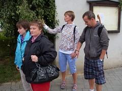 Letní putování za hrady a zámky ve znojemském TyfloCentru, 26. 7. 2011