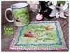 Cupcakes para mim, bolo para vc... Aceita??? (**DASDE Artes!**) Tags: cupcake mugrug tapetedecaneca