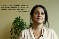 Salam Maaki Loves Her Life In Detroit (WDET 101.9 Detroit) Tags: community detroit diversity arabic dearborn wdet arabamerican niot
