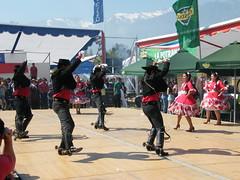 Cueca dancers (cldurand) Tags: chile horse music plane army caballo boots box fiestas september septiembre patrias lam avion botas chinita ejercito huaso cordero cueca