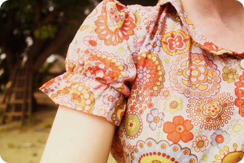 {september} pretty pattern | dress