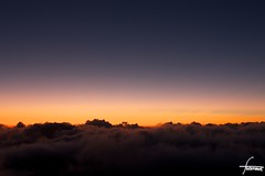 Sunrise on Haleakala Visitor Center #1 (flickranet) Tags: longexposure morning pink light red sky sun colors beautiful skyline sunrise 35mm canon dawn lights iso100 hawaii licht colorful nightshot himmel lila haleakala crater sonne f8 sonnenaufgang krater dammerung dammern flickranet