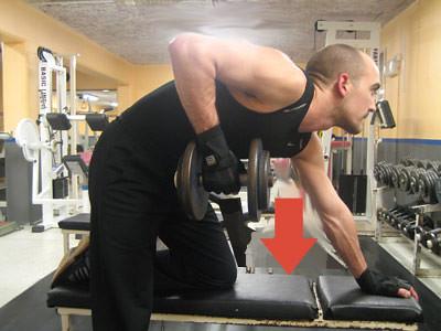 Dumbbell row (Enarmshantelrodd), Strength Training (Styrketräning)