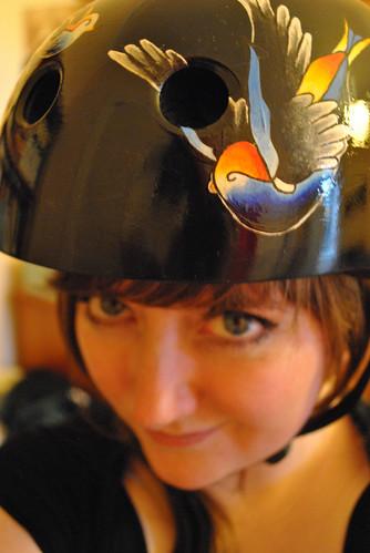 Roller derby face