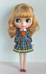 school girl dress2 plaid