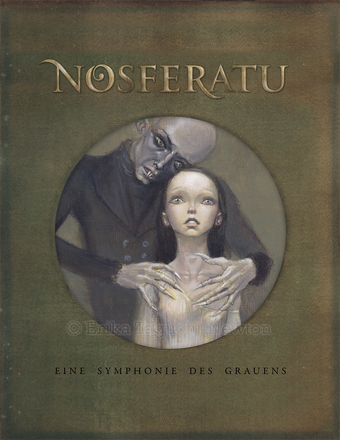 Nosferatu with title