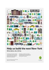 ArchiveCity Atlas Postcard (Network Osaka) Tags: new york city nyc ny newyork buildings design icons graphic postcard environmental atlas environment iconography sustainable sustainability pictograms