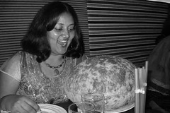 Dinner Time (Anoop & Shraddha Iyer) Tags: food india gujarat ahmedabad shraddha puri iyer bhatura havmor