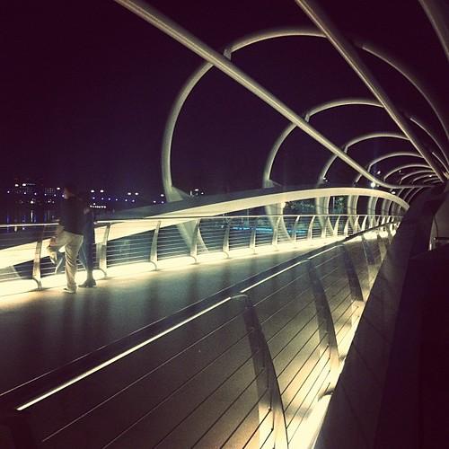 Pedestrian bridge / portal