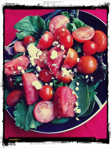 tomato-tastic salad!