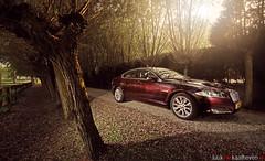 Like a Jag.. (Luuk van Kaathoven) Tags: red flare jag jaguar van brownish xf luuk autogetestnl luukvankaathovennl autogetest kaathoven