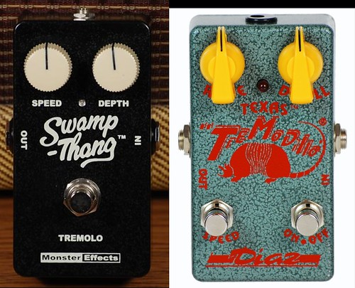 Dirtytoys Pedals: Swamp Thang / Tremodillo