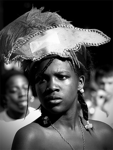 Candid Street Portrait Photography (Notting Hill Carnival)