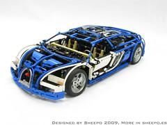 IMG_1476 (Sheepo's Garage) Tags: lego technic bugatti veyron sheepo